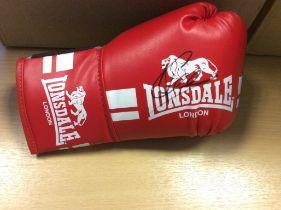 Joe Calzaghe Signed Boxing Glove