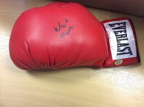 Michael Watson Signed Everlast Boxing Glove
