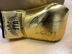 Connor Benn & Nigel Benn Signed Boxing Glove