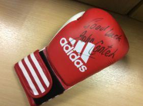 John Conteh Signed Boxing Glove