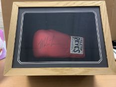 Mike Tyson Signed Glove In Presentation Box