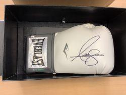 Anthony Joshua Signed Everlast Boxing Glove In Box