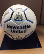 Newcastle United Signed Football Kevin Keegan