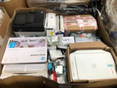 HP Canon LCL Brother Epson - 64 Items - RRP £2206 - P163