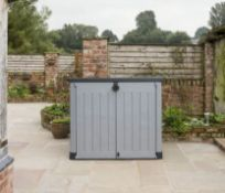1x Keter Store It Out Ace RRP £160. (Unit Opened On One Side – Unsure If Complete)