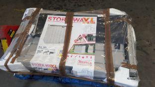 1x Toomax Storaway XL Plus RRP £145. 1270L (145x 85x 124.5cm).