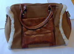 HT Fashion London Beautiful Brown Ladies Handbag