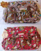 2 x HT Fashion London Ladies Satchel Shoulder Bags