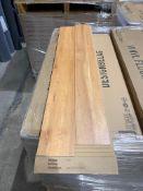 20 sqm Polyflor Expona narrow plank flooring natural wood colour