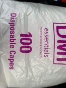 Hairdressing capes/aprons