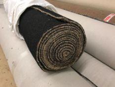 10 x rolls 6mm heavy duty rubber crumb carpet underlay