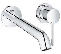 Grohe Grohe Essence New L-Size 2 Hole Basin Mixer Tap - Chrome