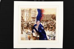 Rare Limited Edition on Canvas by the Monaco based Artist Viacheslav Plotnikov