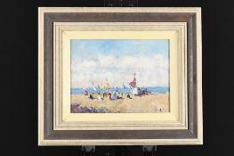 Original Framed Oil on Canvas by John Ambrose