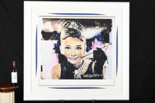 Audrey Hepburn Limited Edition by the Late Famous American Artist Sidney Maurer