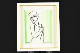 Original Marsha Hammel Mixed Media Painting