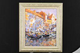 Impressionist Oil on Canvas