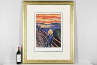 """The Scream"""" by Edvard Munch. Limited Edition"""