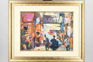 Original oil by Luk Kwok Yuen