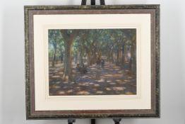 Original Early Pastel Painting by British Artist John Mackie