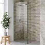 New 1200x250mm - 8mm - Designer Easy Clean Wet Room Panel & Return Panel. RRP £549.99.8mm E...