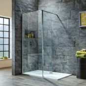 New (D113) 350x1950mm 6mm Flipper Panel. RRP £199.99. Deflect Water Back Into Your Enclosur...