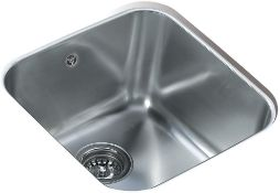 New (J33) Franke 10125005 Be 40.40 Be 400/400 Cn Kitchen Sink With A Single Bowl From Teka, Gre...