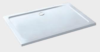 New (J55) 1200 x 800mm Anti Slip Rectangular Shower Tray. 1200 x 800mm Anti Slip Rectangular Sh...
