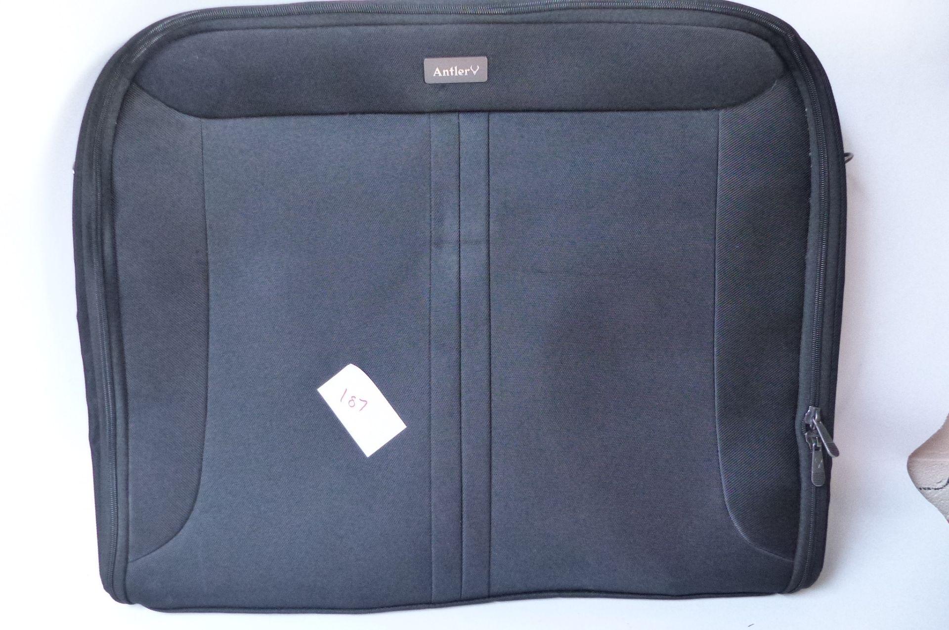 Antler suite bag black SKU187