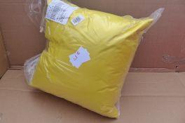 Rucomfy Indoor / Outdoor Cushion, Set of 2 Yellow