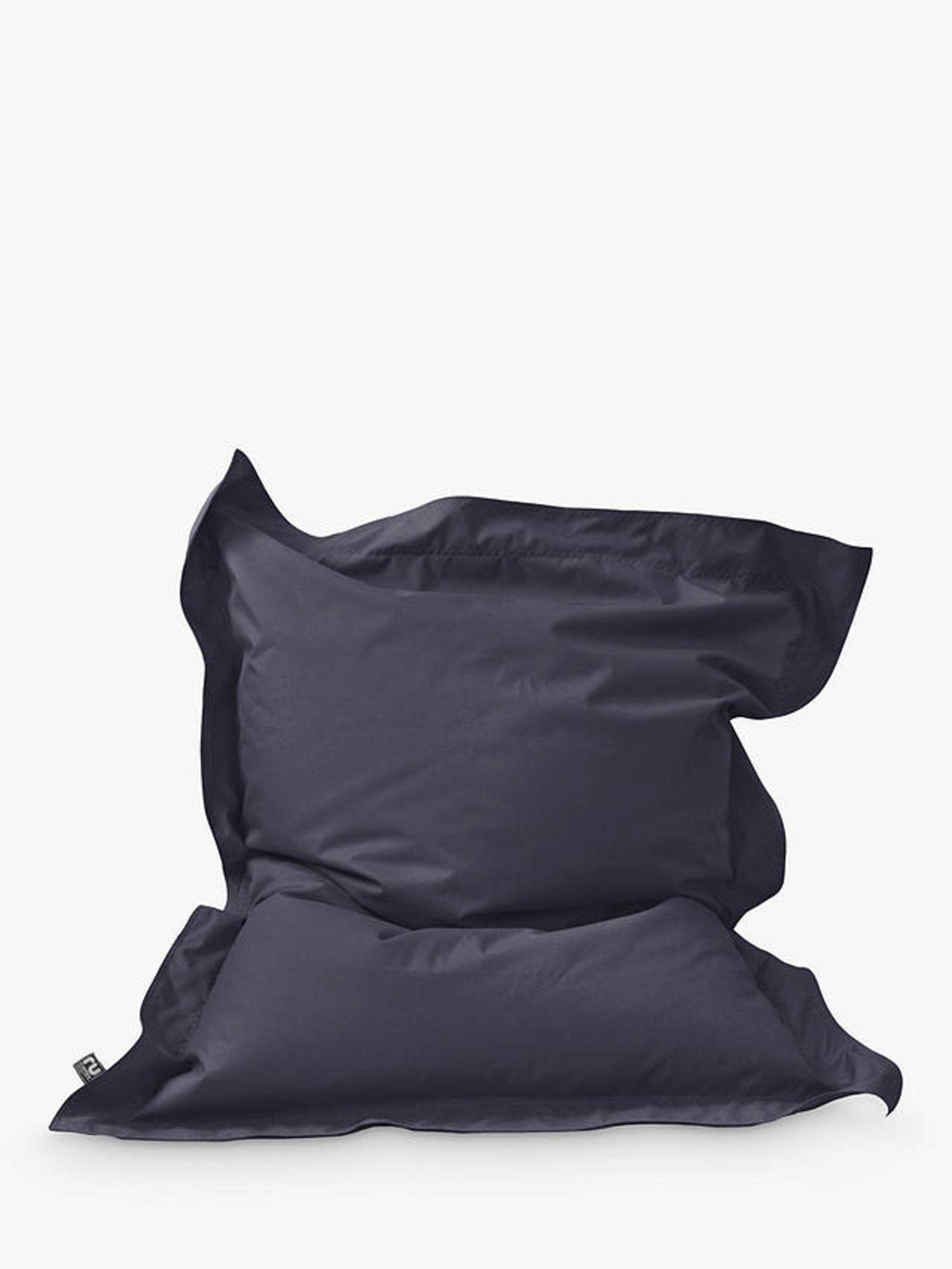 Rucomfy Junior Squashy Squarbie Indoor/ Outdoor Bean Bag navy