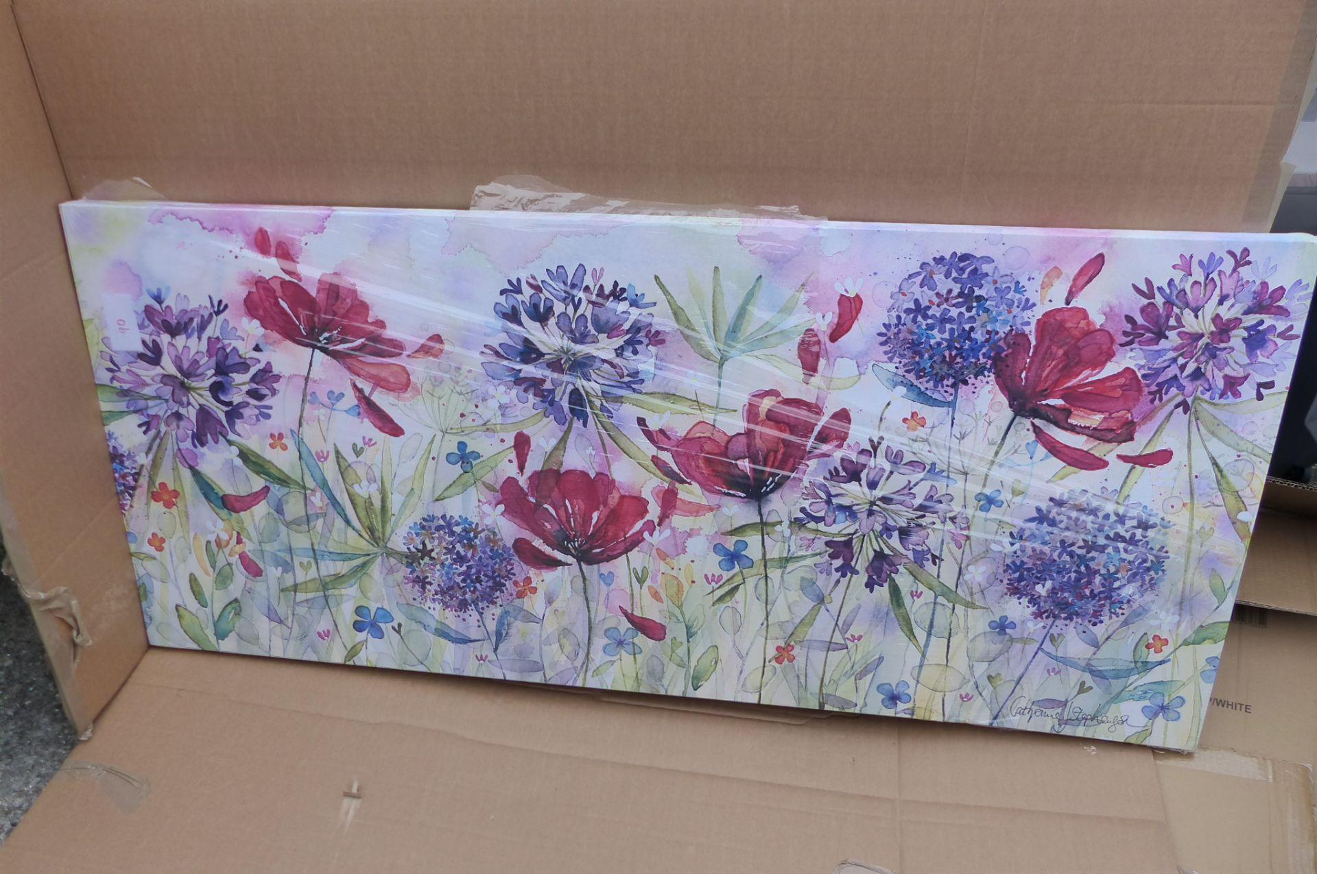 Catherine Stephenson - Blooming Summer Print, 135 x 60cm