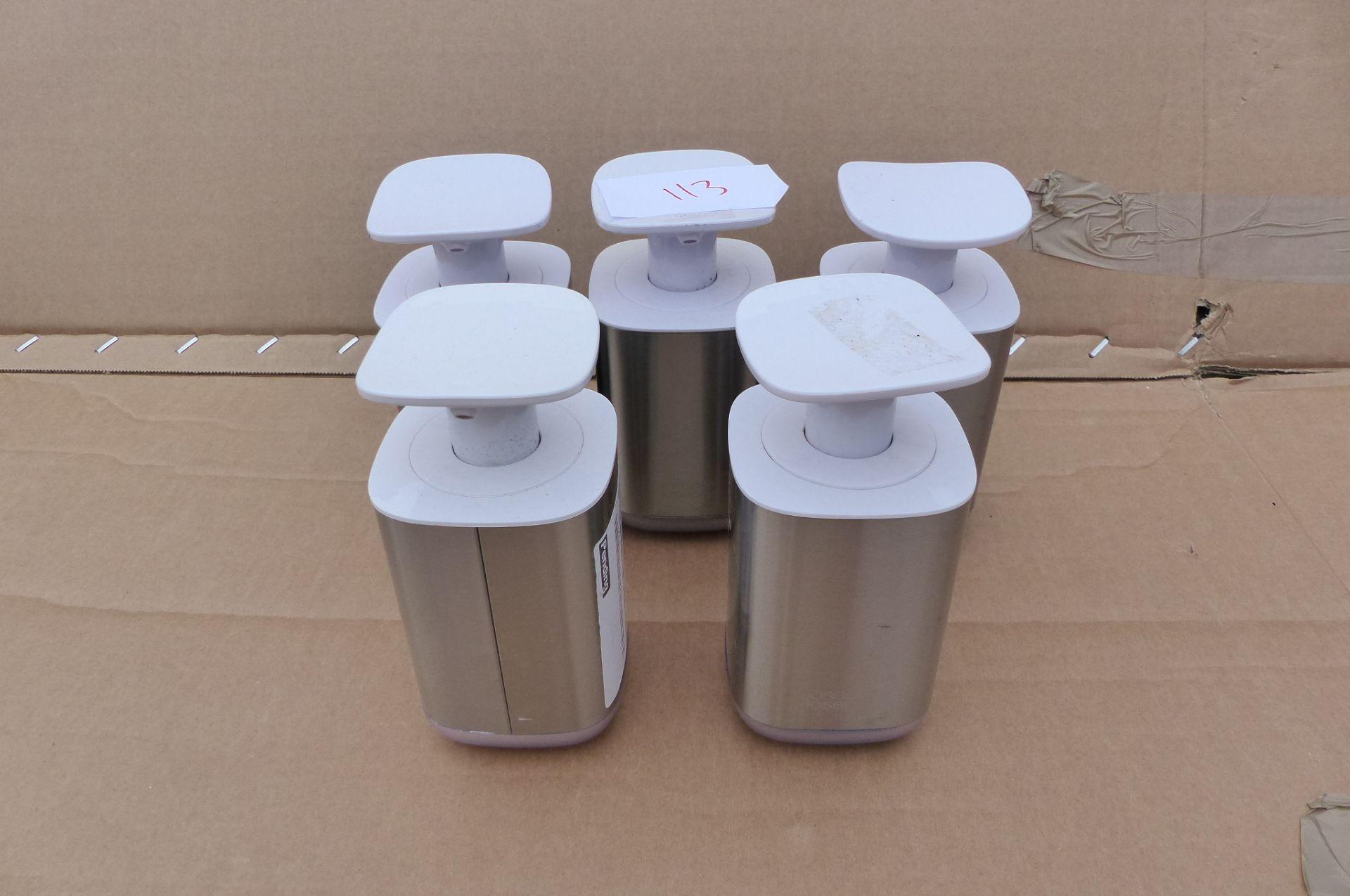 5 simplehuman soap pumps