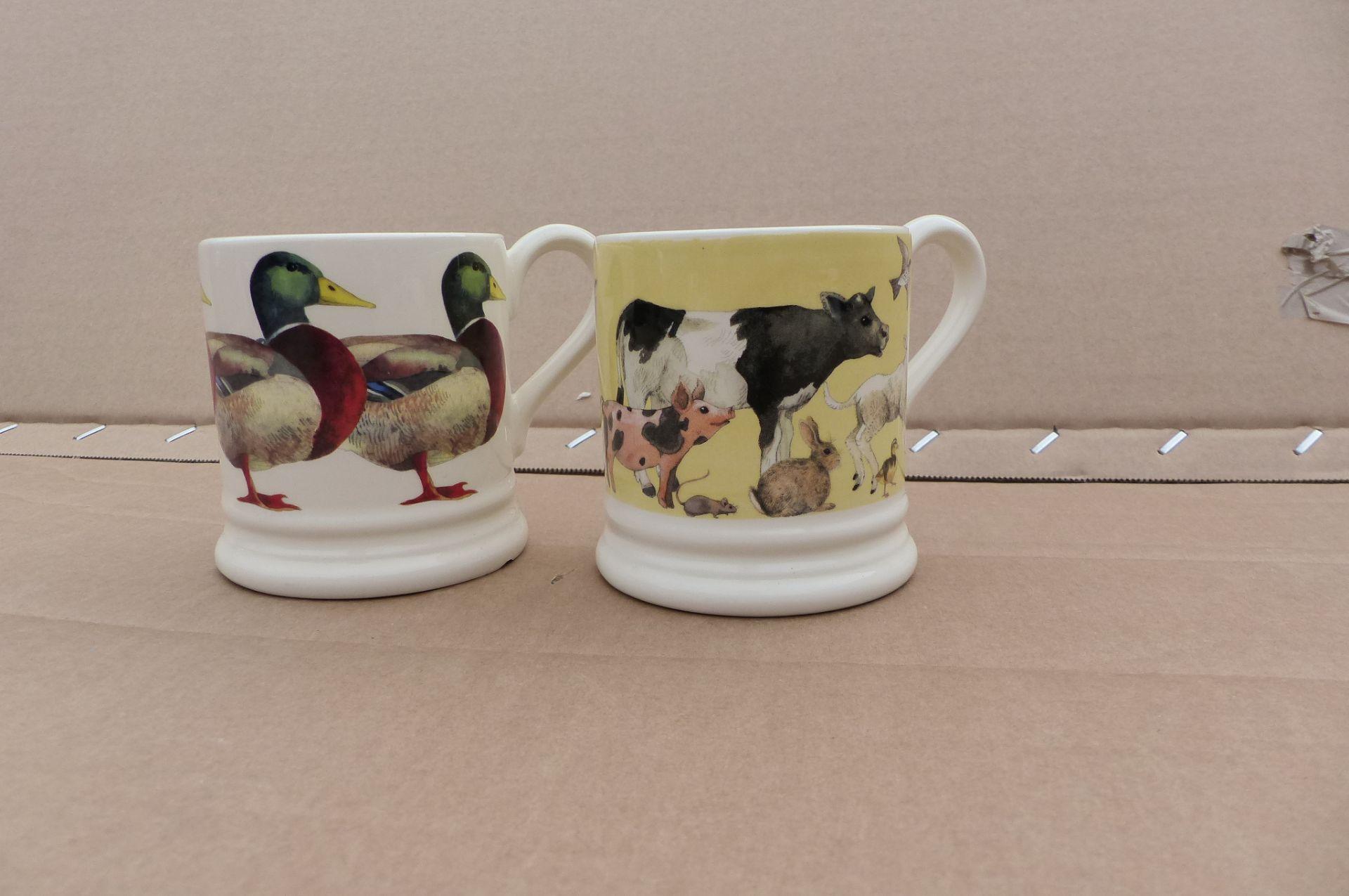 2 Emma Bridgewater Mugs