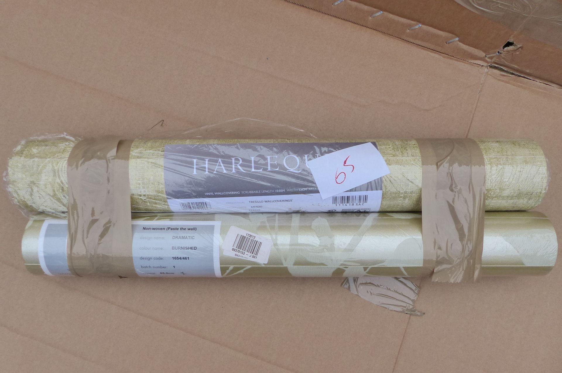 2 Rolls of wallpaper Harlequin & Prestigious Textiles