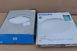 2 Ceiling Lights Philips & Astro