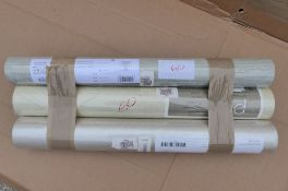 3 x Rolls of Wallpaper Designers Guile , Prestigious Textiles & Harlequin