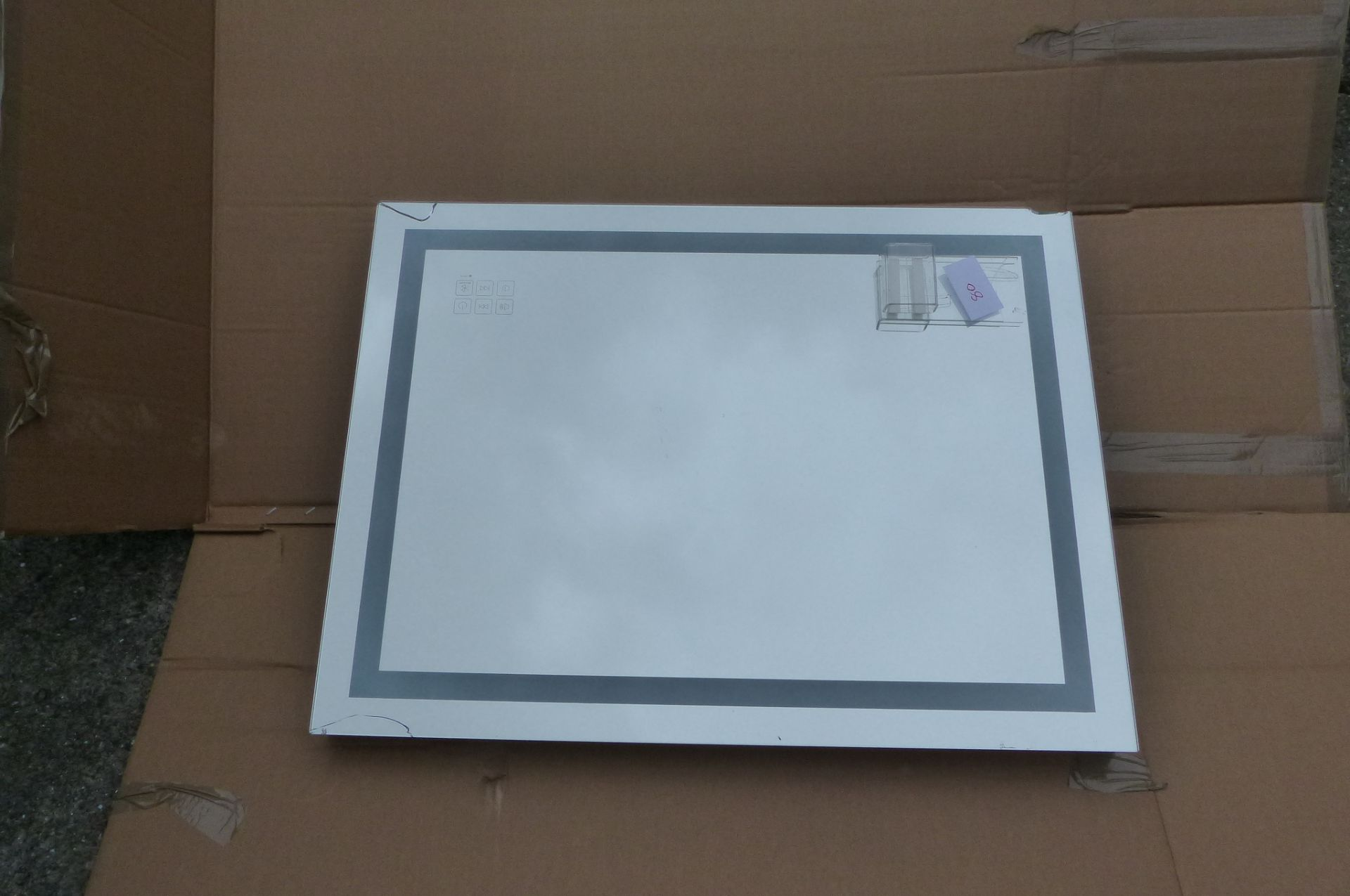 Large LED bathroom mirror *COLLECTION ONLY*