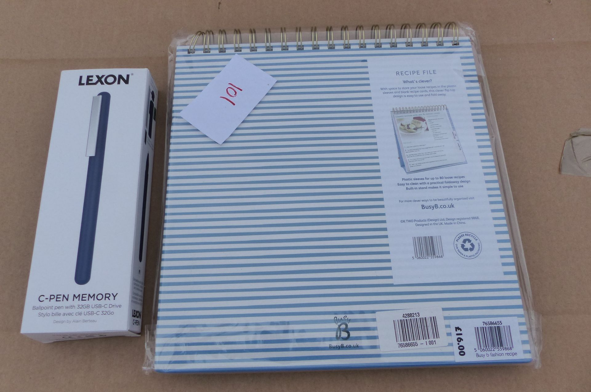 Lexon C Pen Memory and Recipe file
