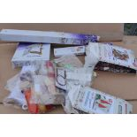 Large bundle of craft and knitting items