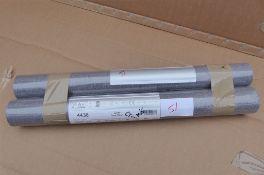 2 x Boråstapeter Linen Wallpaper Dark Plum 4436