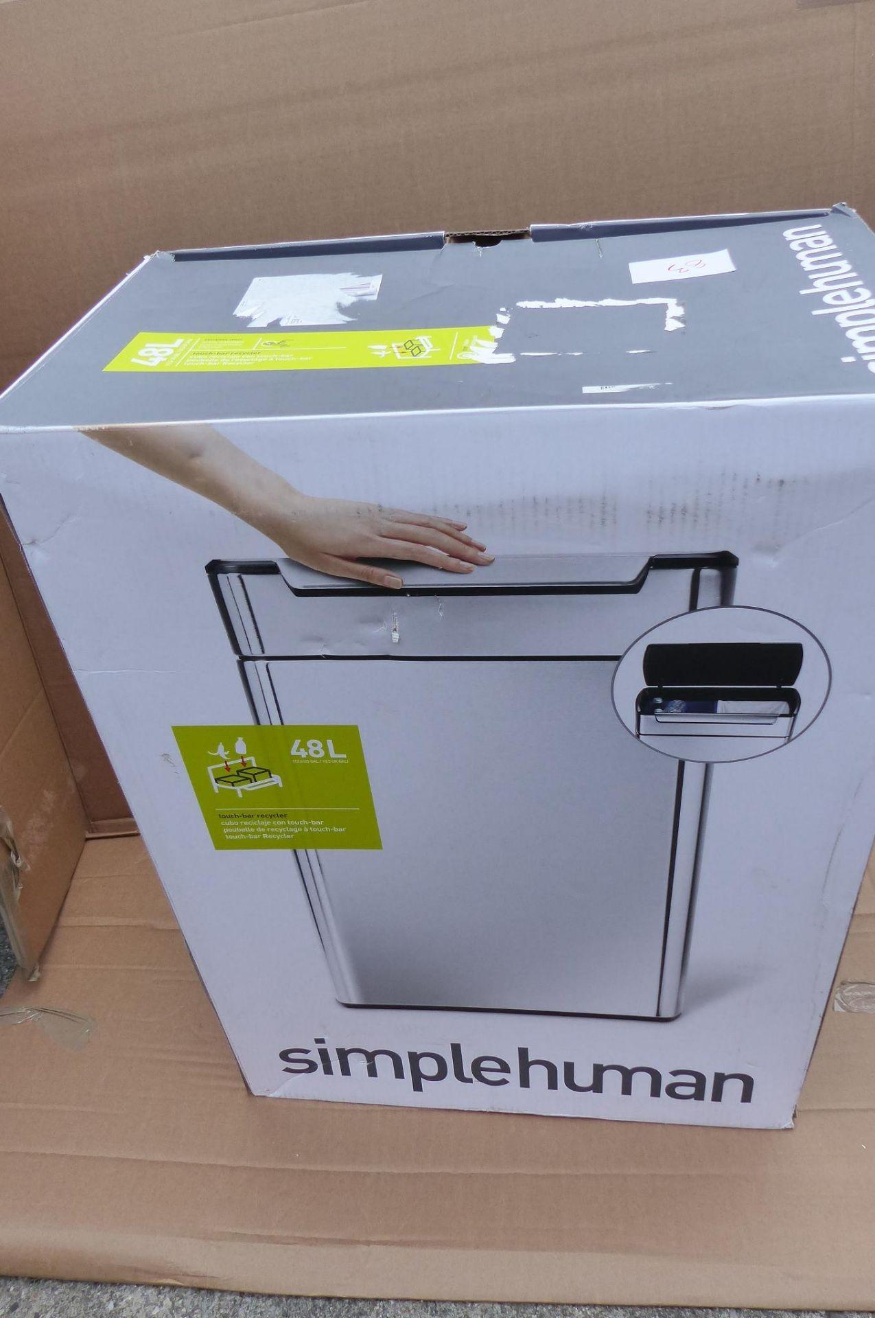 Simplehuman Recycling bin