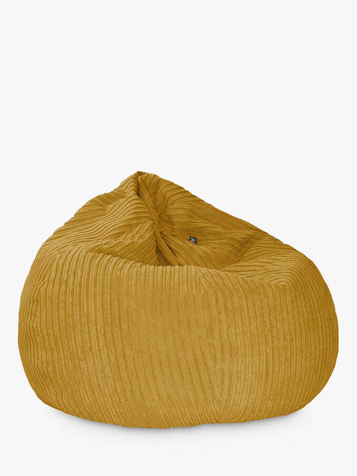 Rucomfy jumbo cord bean bag Mustard *COLLECTION ONLY*