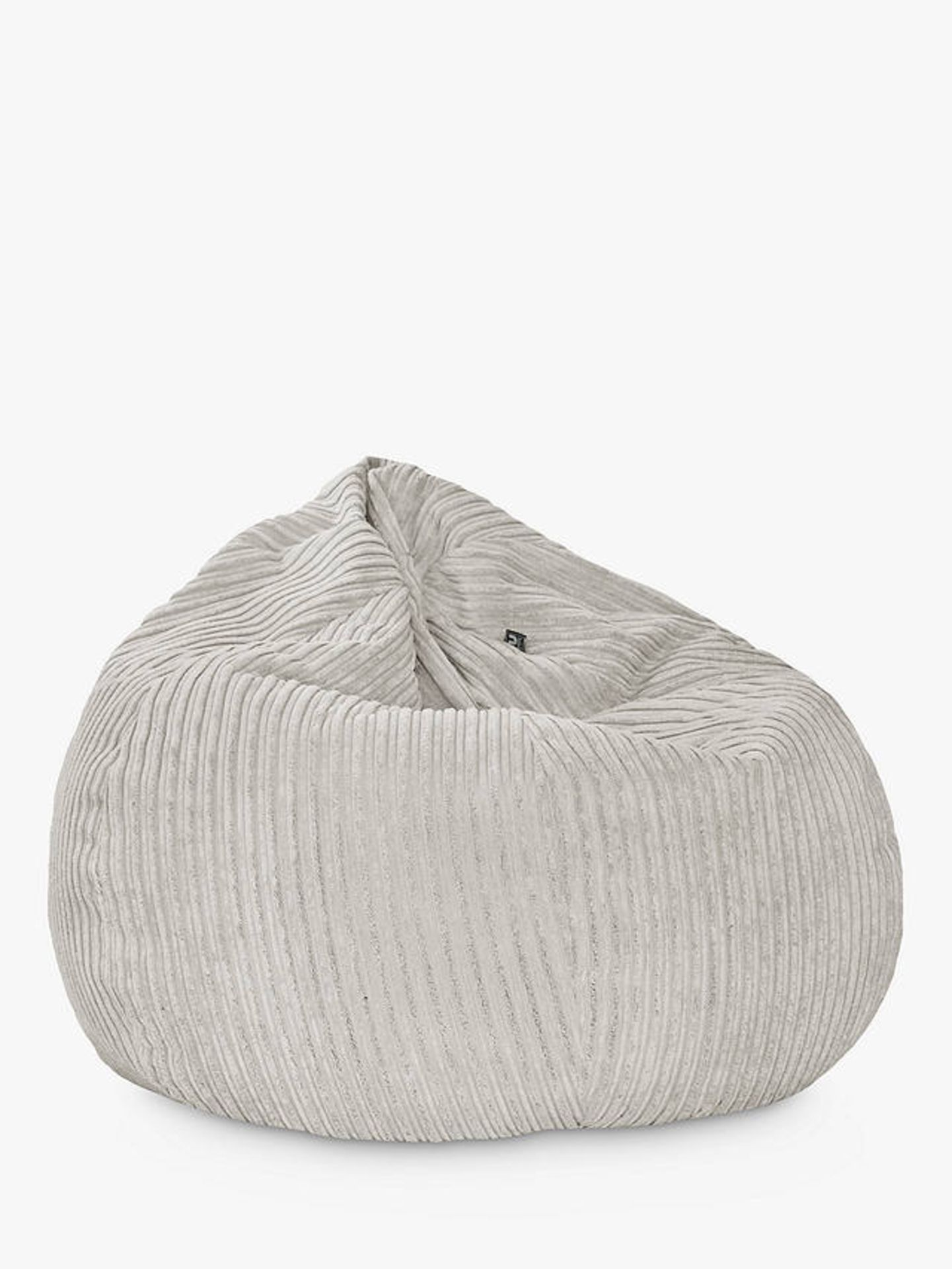 Rucomfy Indoor giant slouch bag platinum