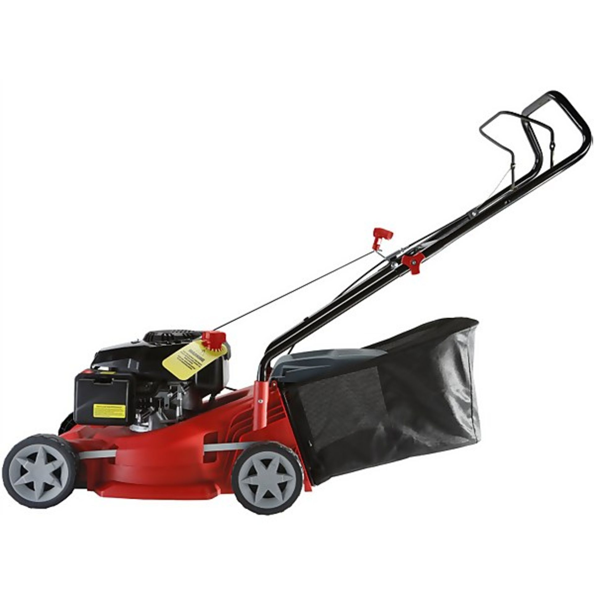 (P10) 1x Sovereign 40cm Push Petrol Lawn Mower 127cc RRP £125. New, Sealed Item With Damage To Box - Image 2 of 5
