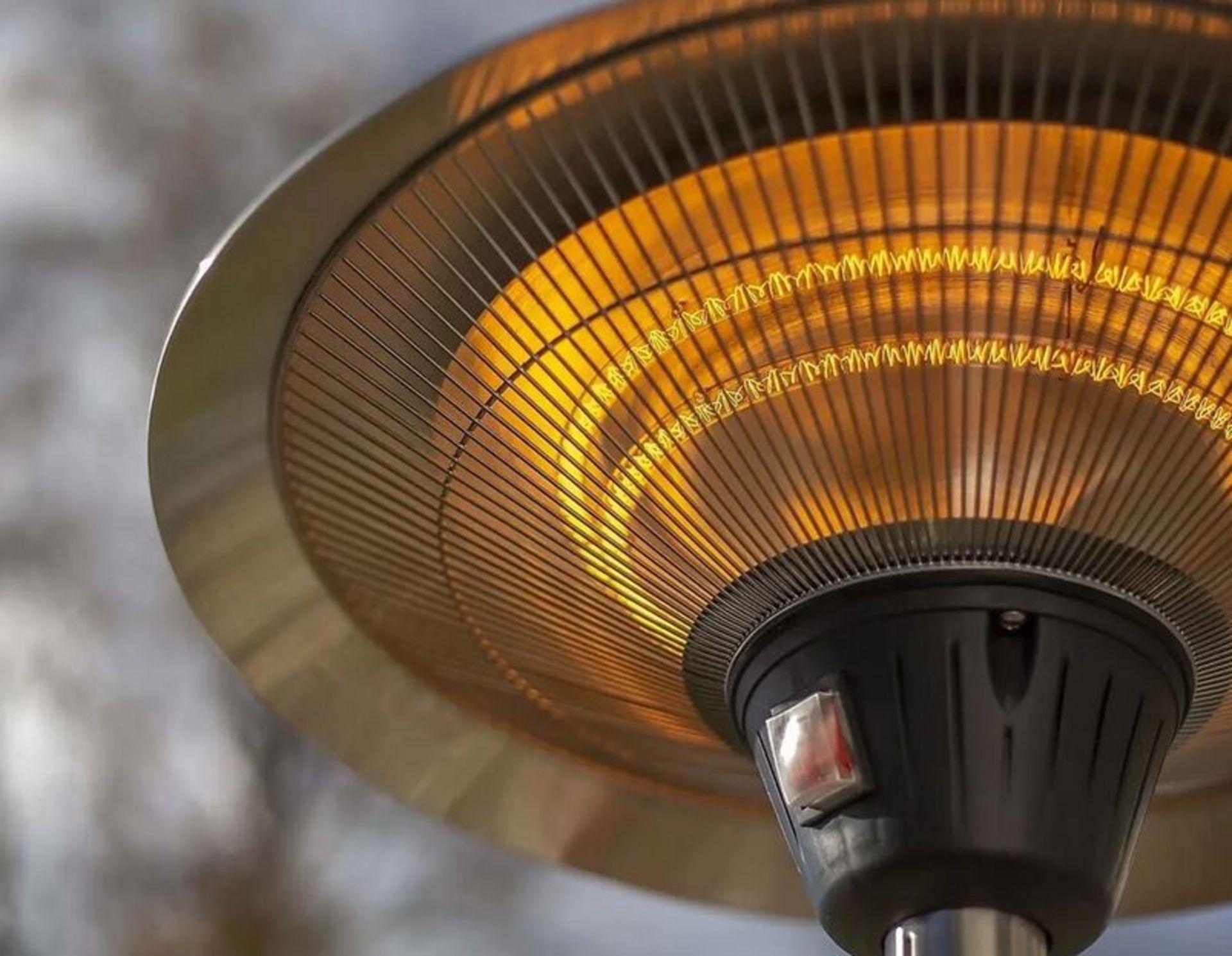 (P6) 1x La Hacienda Lume Standing Heater RRP £99.99 3 Heater Settings: 900W, 1200W & 2100W (H205x - Image 2 of 4