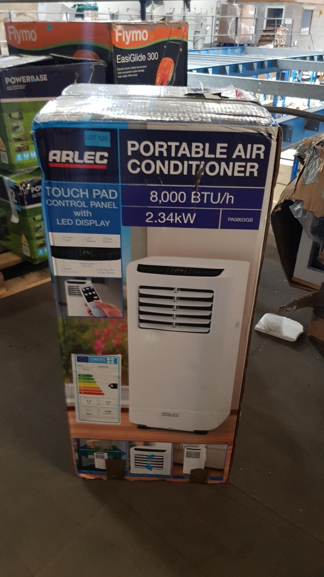 (P2) 1x Arlec Portable Air Conditioner 8000 BTU/h. RRP £400.00. - Image 3 of 3