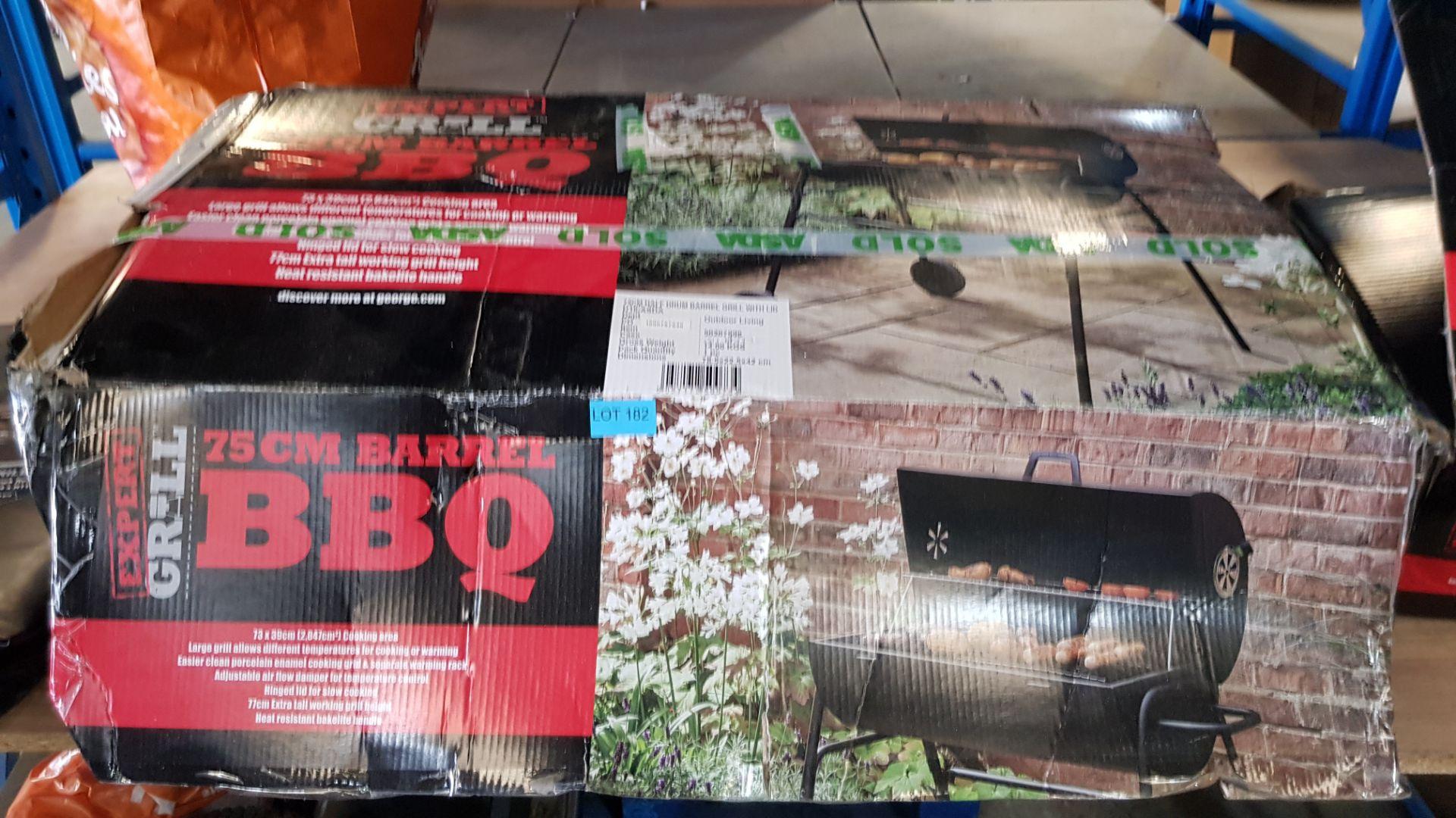(3H) 4x BBQ Items. 1x Expert Grill The Big Portable Grill. 1x Expert Grill 75cm Barrell BBQ. 1x - Image 6 of 9