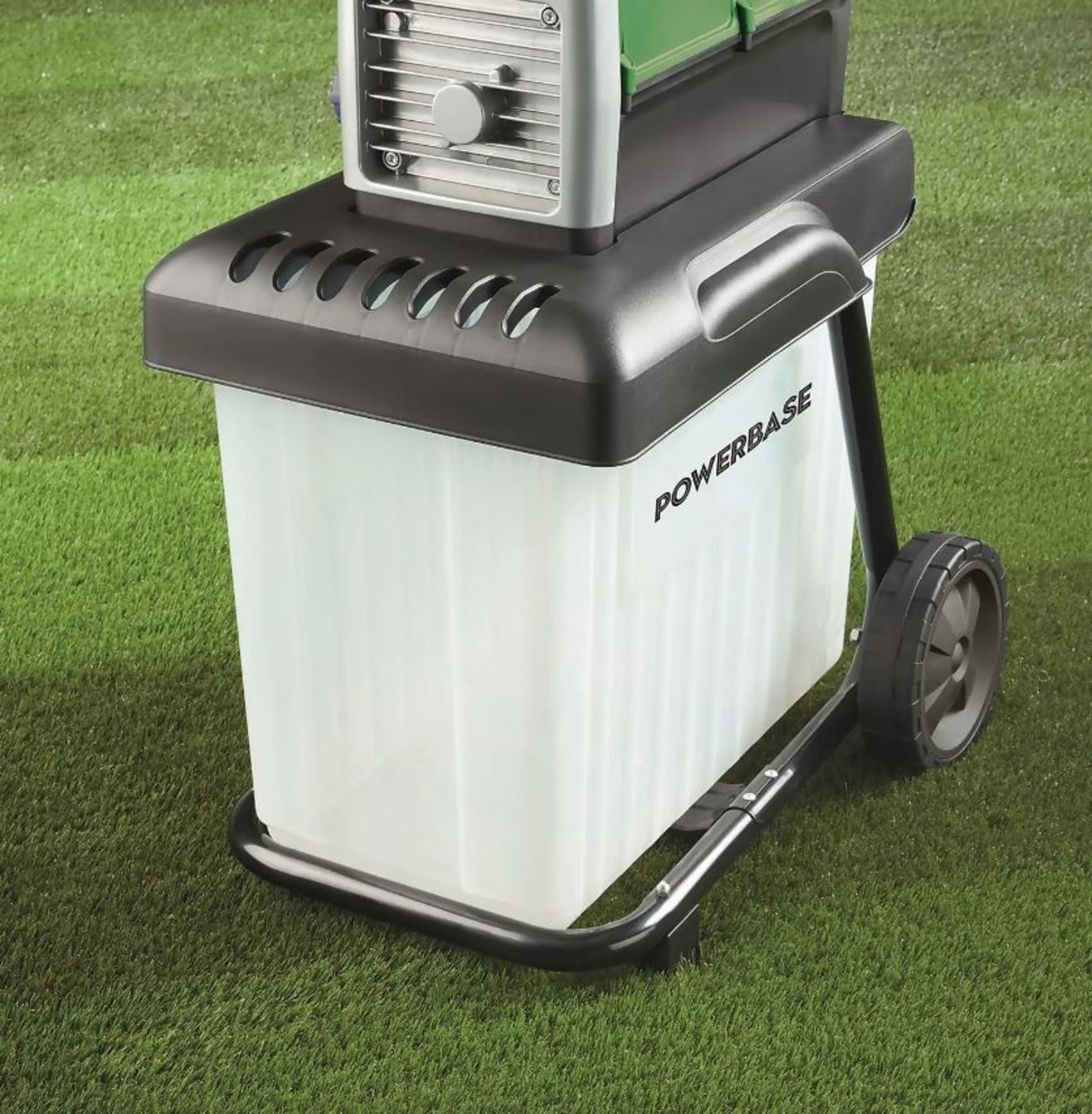 (P3) 1x Powerbase 42cm 2800W Electric Silent Shredder. RRP £175.00. Unit Appears Clean, Unused With - Image 2 of 5