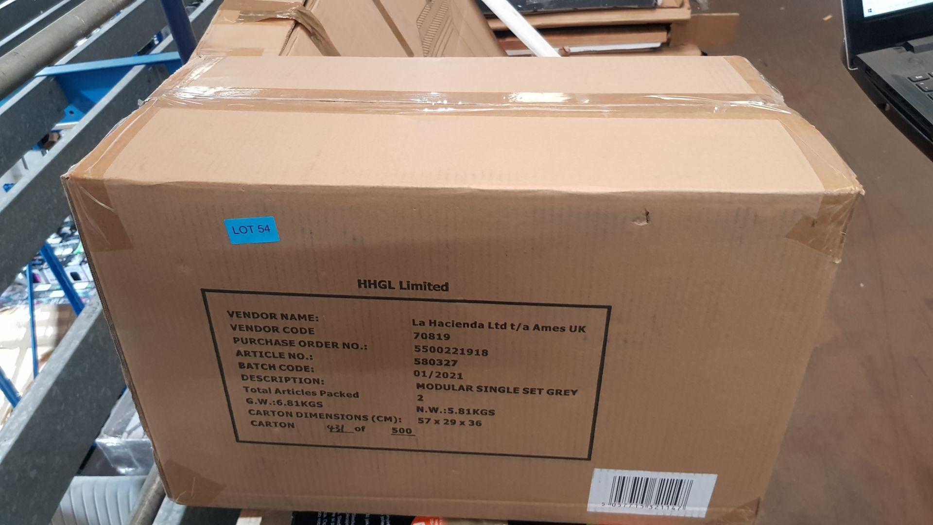 (P6) 2x Botanica Modular Garden Single Set Grey RRP £50 Each. New, Sealed Item. - Image 2 of 2
